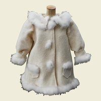 **Sweet vintage doll jacket with goose down**