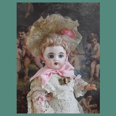 """**Cabinet size 14"""" Petite mademoiselle Eden Bébé....Lovely face !"""