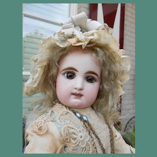 """**Outstanding rare Rabery et Delphieu doll 20"""" double row of teeth."""
