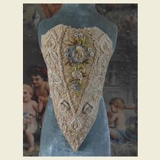 **Rare corset or stays for your doll**approx 1880-1900***