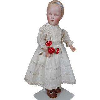 Very rare Portrait doll of Princess Juliana by Gebr. Heubach.14,4 inches.