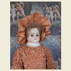 "****Early 28 "" Paper mache early doll***"