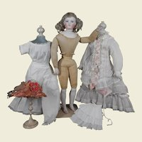 Stunning Fashion Lady doll with bisque limbs and hands by Gaultier.