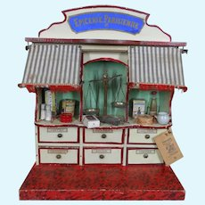 **Wonderful French Epicerie Parisienne**with two awnings