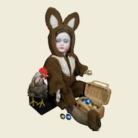 Funny  !!! S & H 1078 in a Easter Bunny costume !!!!!