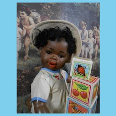 Very rare Mulatto doll mold 251 made by Schützmeister and Quendt.