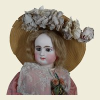 **Fabulous hat for your Bébé French doll***