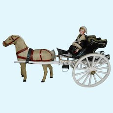 ****Fabulous horse and carriage approx 1900****