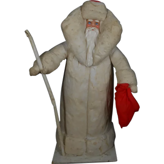 A Beautiful artist made vintage Christmas Santa !!! 14,4 inches !