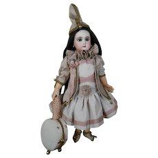 Amazing Pierrot / Polichinelle costume..6 Pieces !