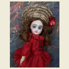 *****size 1 rare French mystery  doll *** all original.****
