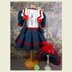 ****Fabulous hand embroidered 3-piece costume...***