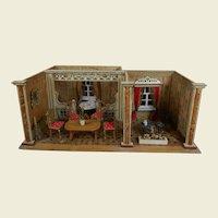 ***Fabulous two-dollroom Albin Schönherr***Dollhouse..