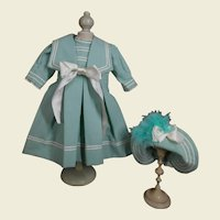 **Sweet lagoon colored costume***including matching hat.