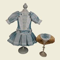 ****Fabulous wild silk costume including a matching hat***