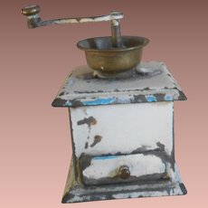 **An antique miniature Märklin Coffee grinder**approx 1900