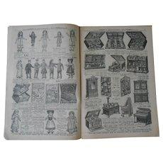 """Än authentic catalog""""Au Printemps"""" Jouets 1915/1916"""