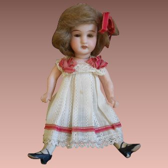 **All original French small doll / mignonette  6,8 inches***