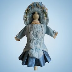 **Wonderful French style blue costume 3-pieces***