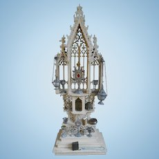 ***Outstanding Altar approx 1890 with all accessories****