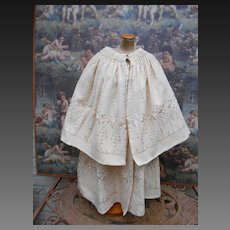 **Amazing Coat with cape....beautiful embroidery....