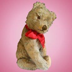 """Cute Steiff Teddy Bear..16""""  1950-1960"""