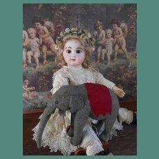 **Cute pull toy ***Elephant***approx 1920