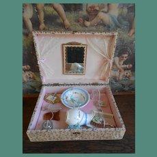 """All authentic French """"Boîte de toilette"""".....presentation box."""