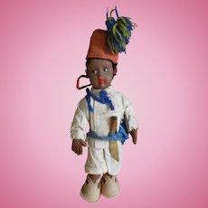 **A mascot Lenci.. as a Turkish boy with fez*** 1930-1935.