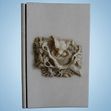 **Outstanding!!! Bird's nest with eggs and bird.... small notebook***