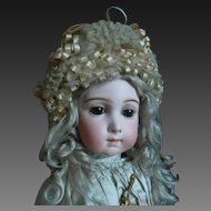 **Fantastic French, authentic bonnet for your doll**approx 1880-1890