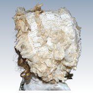 Magnificent Antique French doll bonnet circa 1880