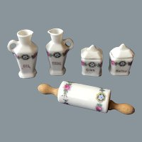 Amazing antique porcelain set for small kitchen