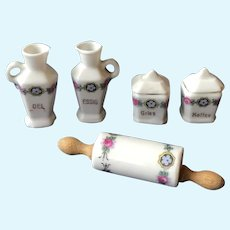 Amazing antique porcelain set for small kitchen
