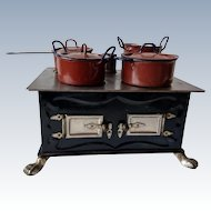 German cooker with matching pots - 1900 century