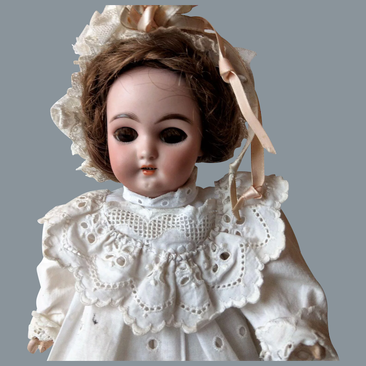 Real Hair Eye Lashes for Antique Dolls French or German Dolls.
