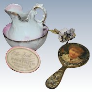 Vanity Set with mirror 1900-1910