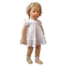(Layaway- thank you  ML) Very pretty Kathe Kruse doll - Deutsches Kind with fabric head
