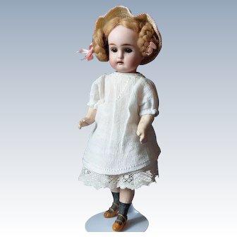 "Antique Doll Rare Size Swivel Neck  K *R 192 Just 12"""