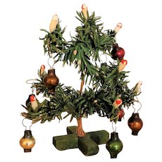 Wonderful little antique Christmas Tree