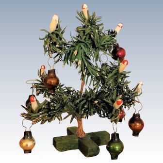 Wonderful little antique Christmas Tree