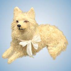 Fabulous antique French Pyjama dog