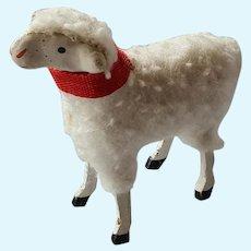 Antique German Wool sheep A/O 1920