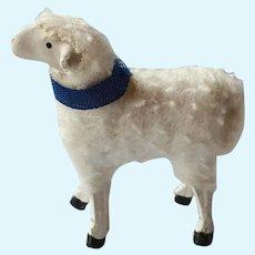Antique German A/O wool sheep - 1920