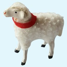 Antique German Wool sheep A/O 1920 (2)
