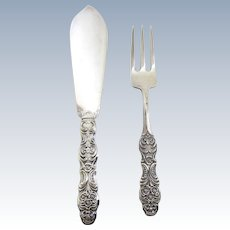 CG Hallbergs Fish Knife and Fork Set- Sweden