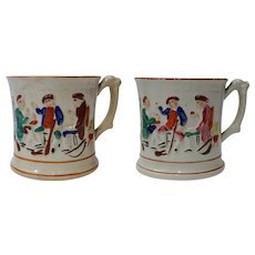 Staffordshire Mugs - Frog Tankards