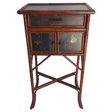 VintagePalecek Small Bamboo End Table
