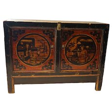 19th Century Chinese Gansu Console Cabinet