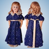 Lovely LARGE Armand Marseille 1894 bisque head Doll